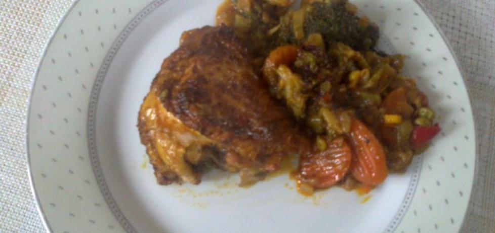 Udka kurczaka z warzywami (autor: megg)
