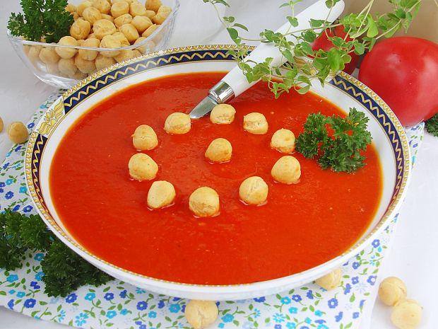 Przepis  krem pomidorowo paprykowy przepis