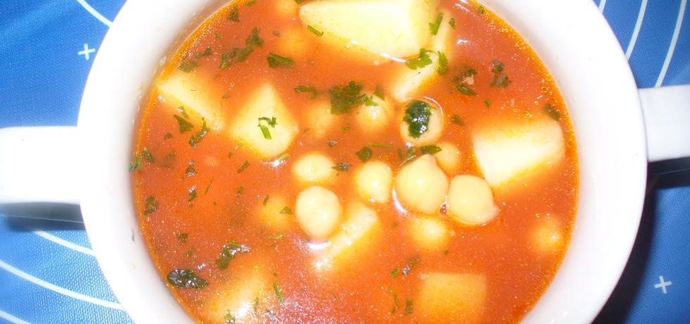 Zupa z ciecierzycy z ziemniakami (autor: jagoda5913 ...