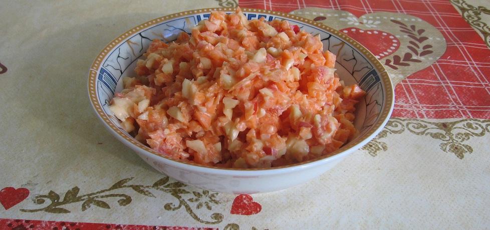 Surówka z marchewki, papryki i selera (autor: ania321 ...