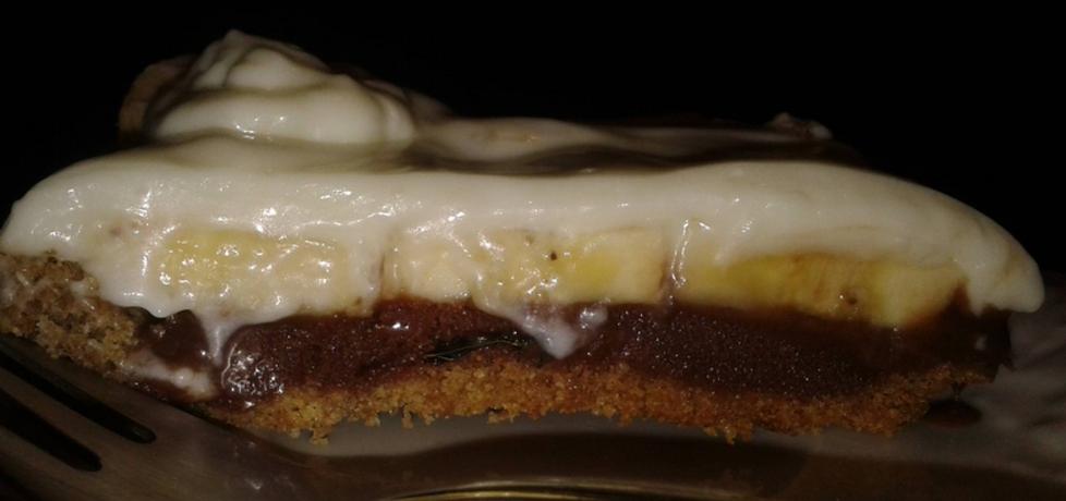 Razowa tarta z toffi i bananami (autor: paula99926)