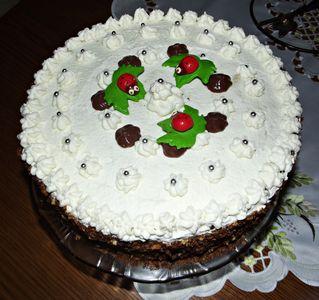 Tort urodzinowy z nutella