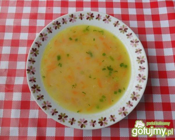 Przepis  zupa warzywna zasmażana przepis