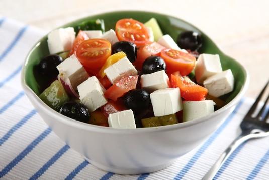 Klasyczna sałatka grecka
