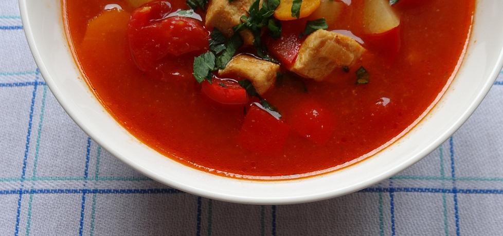 Zupa gulaszowa- (autor: cukiereczek)