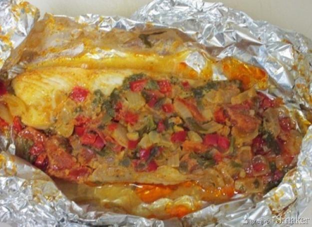 Ryba z grilla po meksykansku