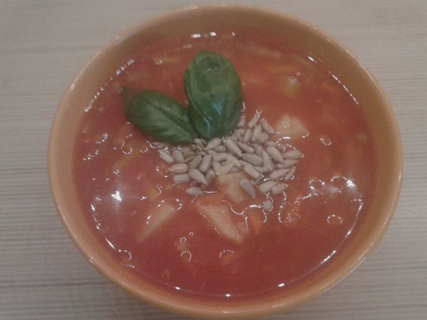 Przepis  lekka zupa pomidorowa przepis