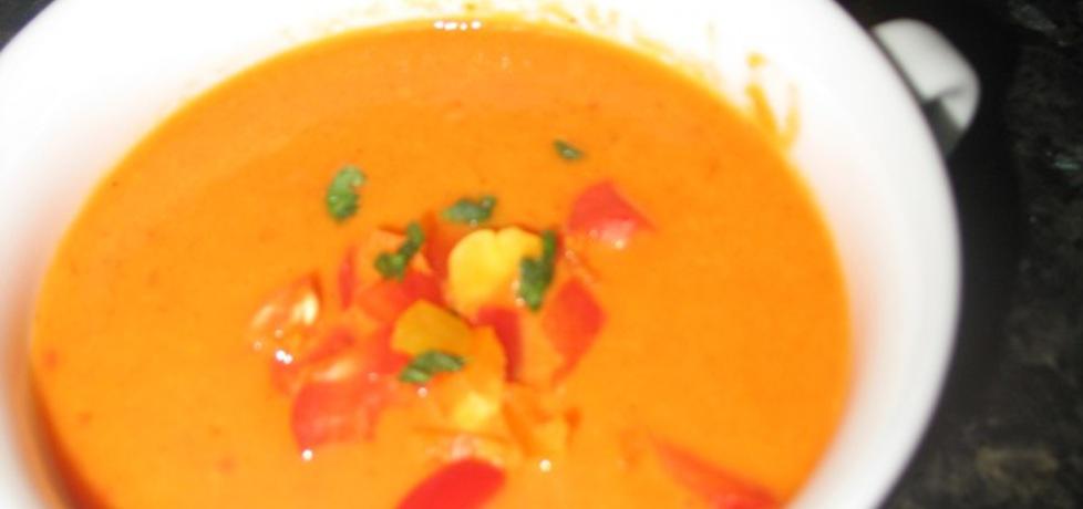Zupa  krem paprykowa (autor: berys18)