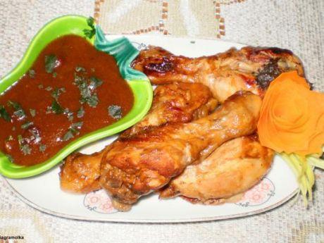 Przepis  herbaciany kurczak z mango przepis