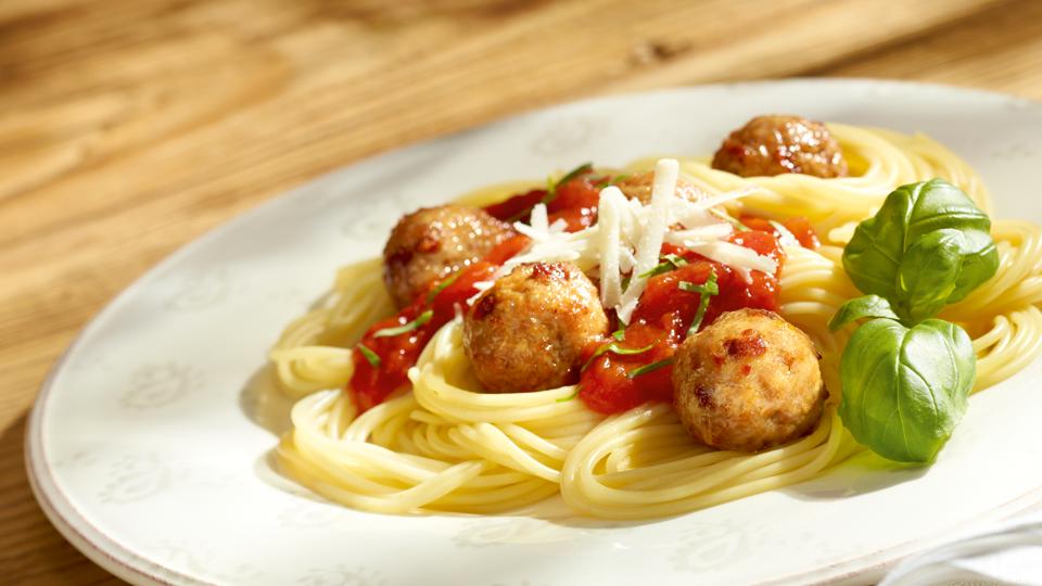 Przepis na spaghetti z pulpecikami