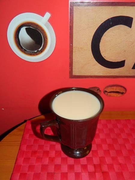 Przepis  bawarka czyli herbata z mlekiem przepis