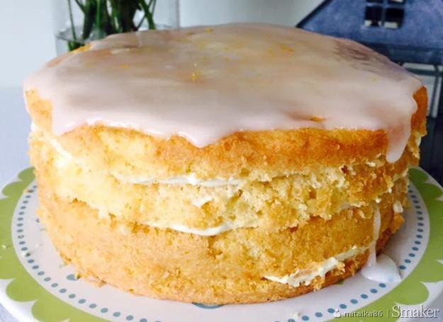 Rustykalne ciasto obłędnie cytrynowe