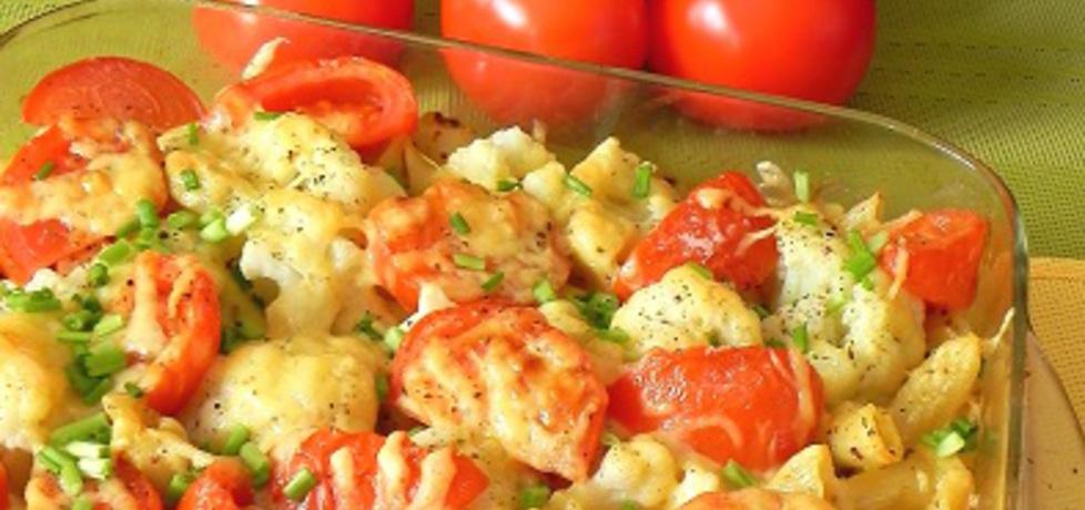 Makaron zapiekany z kalafiorem i pomidorami (autor: lucja ...