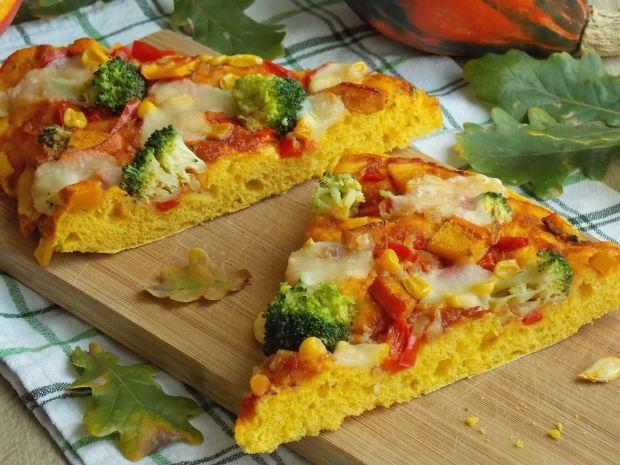 Przepis  jesienna pizza z dynią przepis
