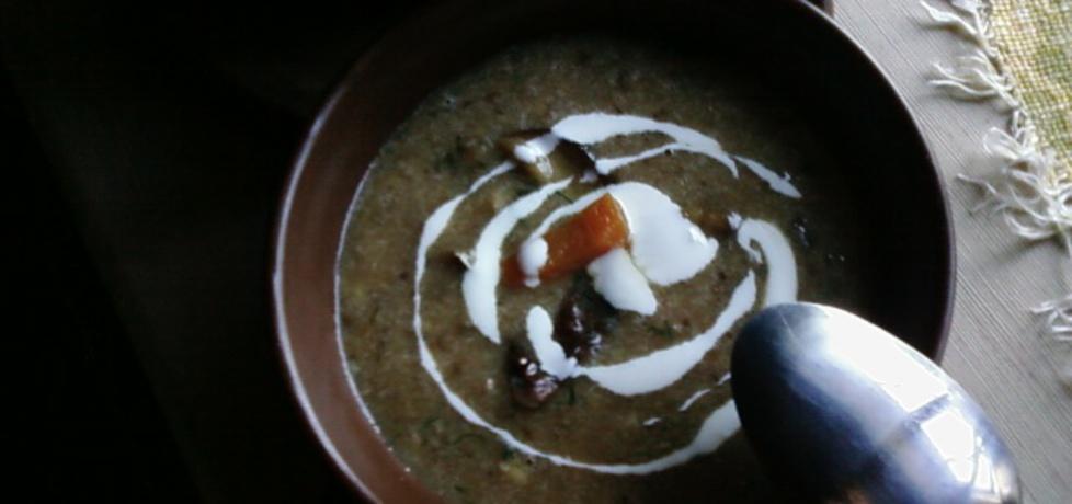 Zupa grzybowa z pęczakiem. (autor: benka)