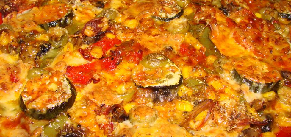 Pizza z mąki zytniej na chrupiącym spodzie (autor: katarzyna40 ...