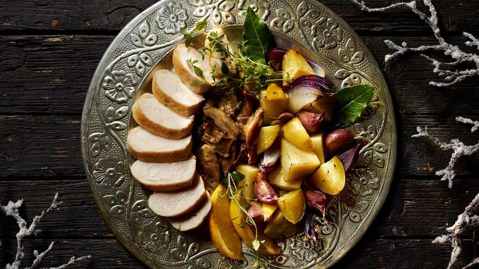 Przepis na piersi z kurczaka w sosie