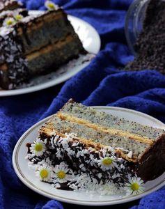 Ciasto grysikowe z makiem – bez pieczenia