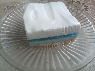 Ciasto królowa śniegu bez pieczenia