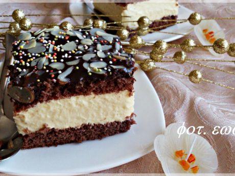 Przepis  kostka kremowo  czekoladowa przepis