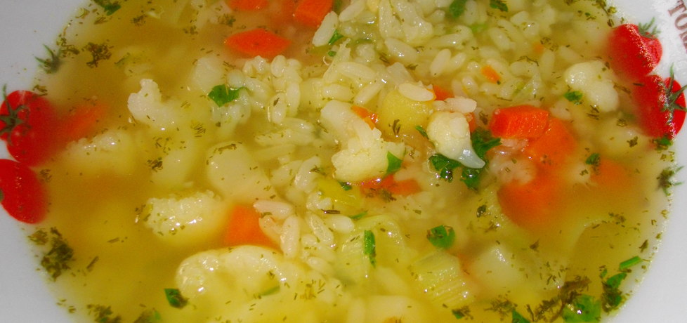 Zupa kalafiorowa z ryżem (autor: habibi)