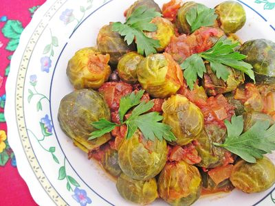 Brukselka w pomidorach