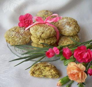 Ciasteczka z płatków owsianych z pestkami dyni