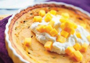 Tarta z marakują i mango  prosty przepis i składniki