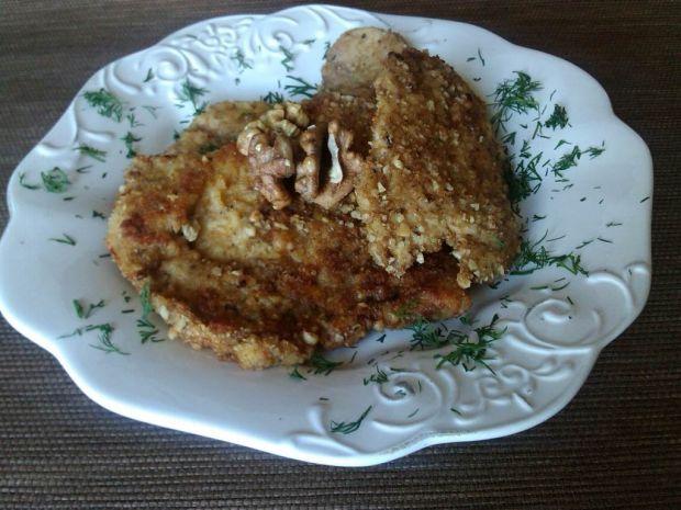 Przepis  filet z kurczaka w orzechowej panierce przepis