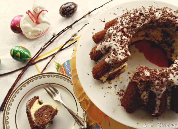 Dietetyczna babka czekoladowo-serowa