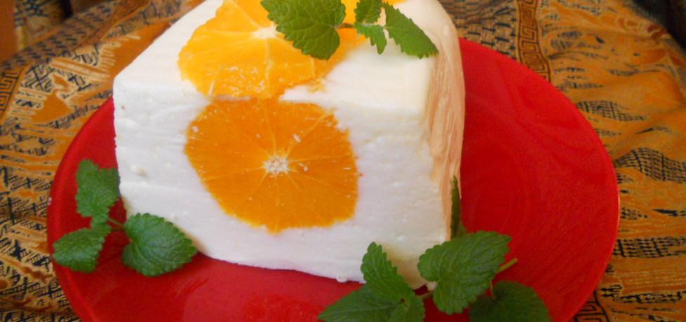 Serowa pianka z pomarańczą (autor: benka)