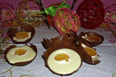 Słodkie jajeczka