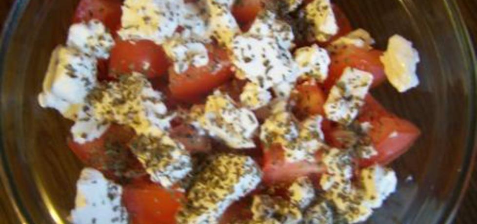 Sałatka pomidorowa z fetą (autor: dorota37)