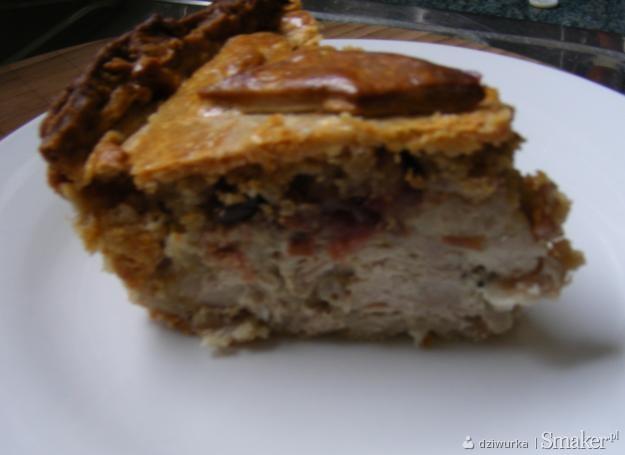 Meat pie czyli zapiekanka wieprzowa