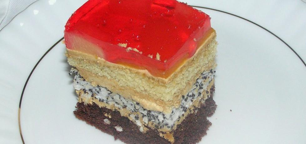 Ciasto capuccino z galaretką (autor: magdalenamadija ...
