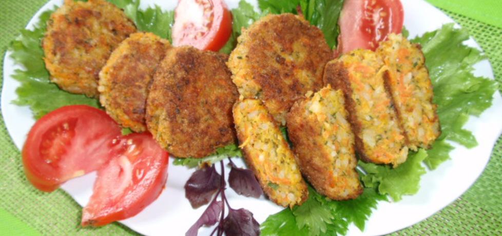 Kotlety ryżowe z marchewką (autor: gosia56)