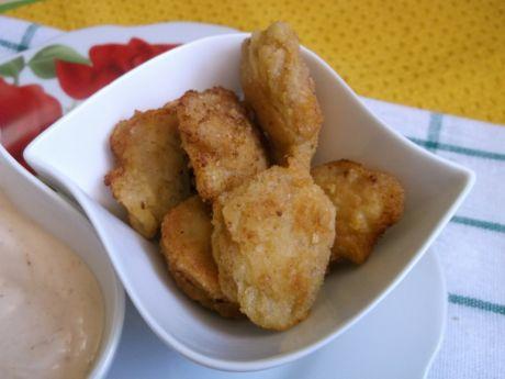 Przepis  nuggetsy z sosem majonezowo