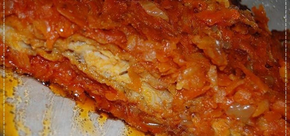 Ryba po grecku z piekarnika (autor: aleksandraolcia ...