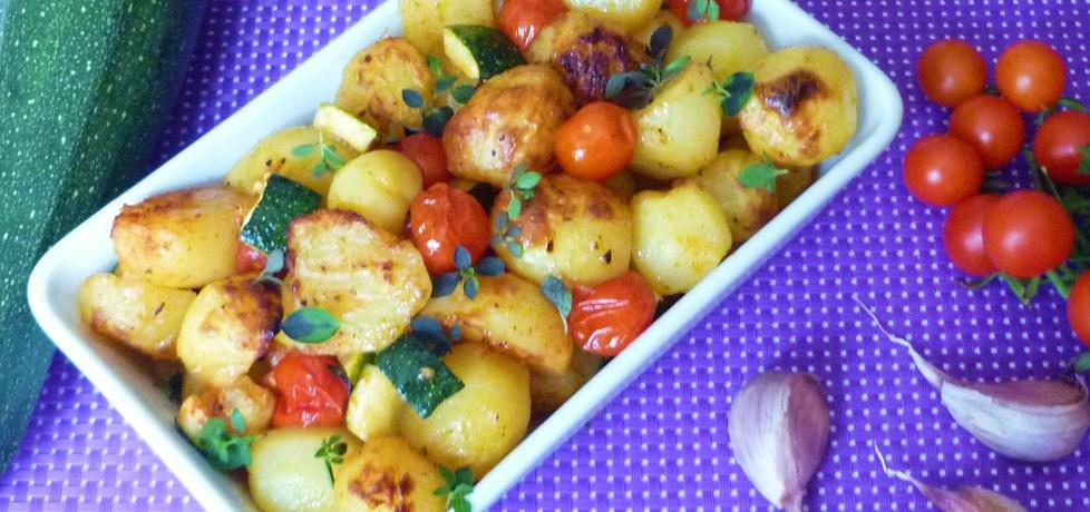 Ziemniaki zapiekane z cukinią i pomidorami (autor: renatazet ...