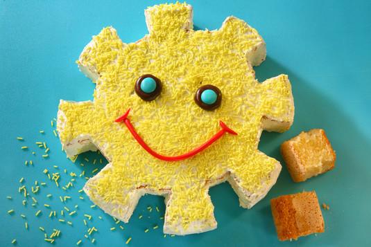 Tort słoneczko