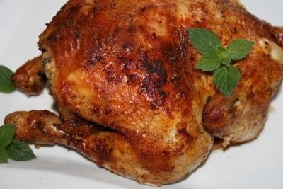 Pieczony kurczak po prowansalsku