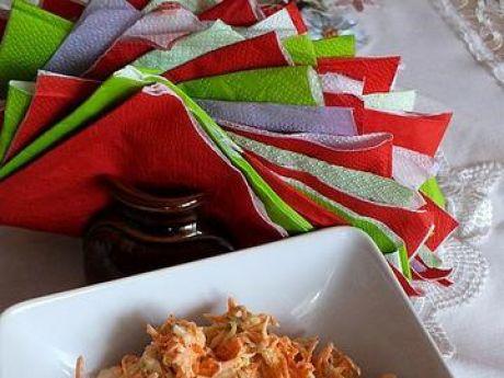 Przepis  kwaśna surówka z marchewki przepis