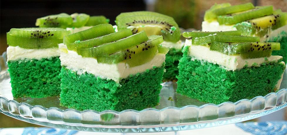 Zielone ciasto cytrynowe z kiwi (autor: ali)