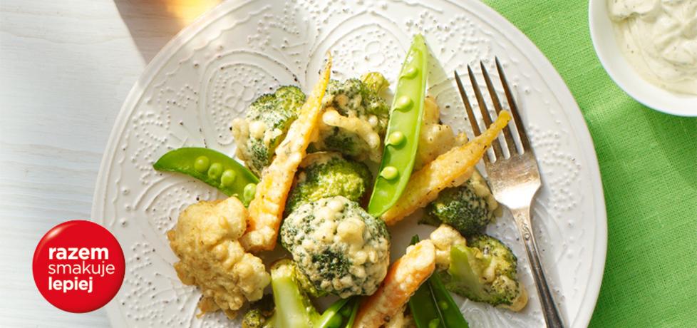 Na ciepło: warzywa w cieście ziołowym naleśnikowym (autor ...