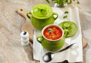 Pikantna zupa z czerwonej soczewicy