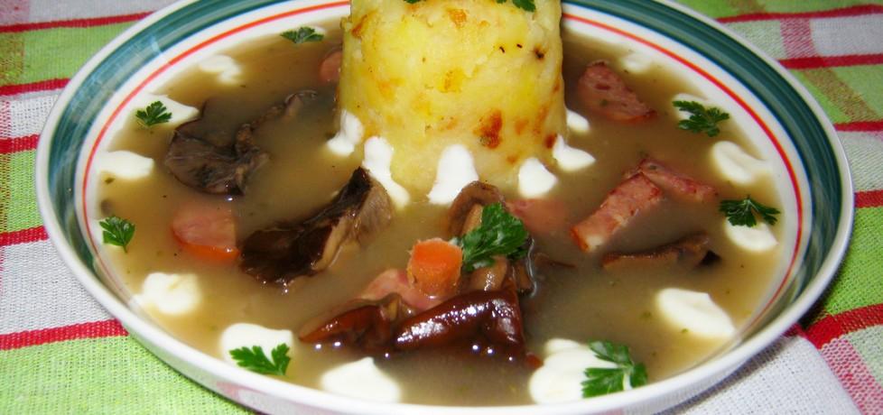 Barszcz grzybowy do ziemniaków (autor: katarzynka455 ...