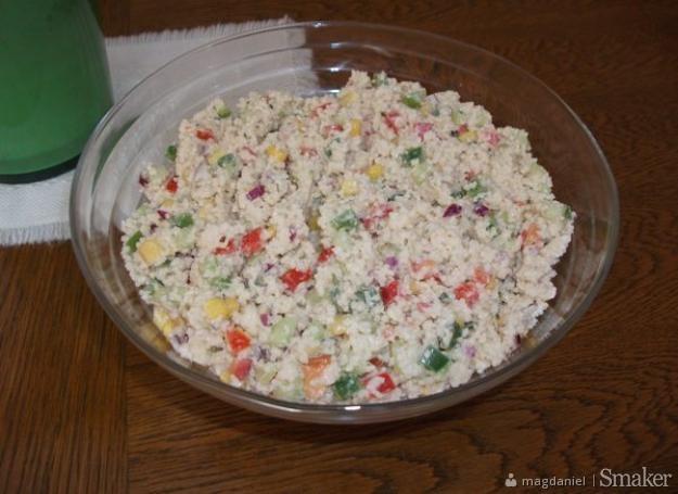 Salatka z kasza kuskus