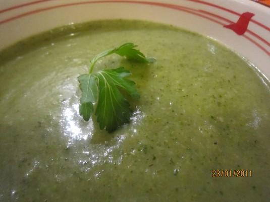 Zupa-krem brokułowa