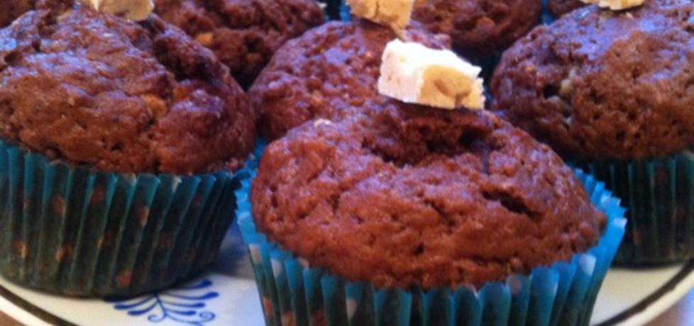 Kakaowe muffinki z biała czekoladą (autor: agnieszka189 ...