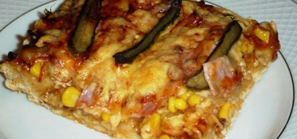 Ciasto drożdżowe do pizzy (autor: panimisiowa)